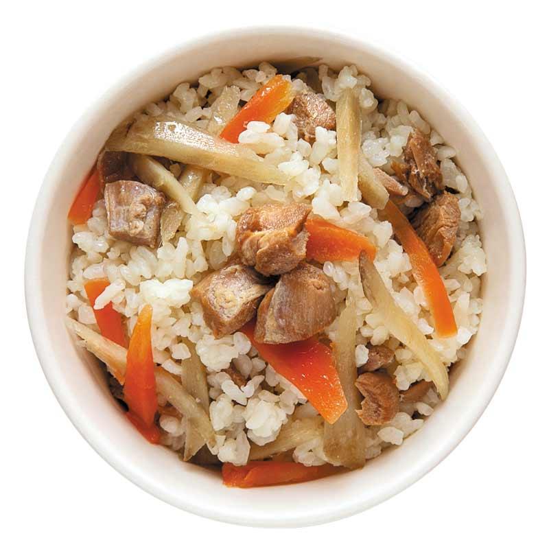 保存食 鶏ごぼうご飯